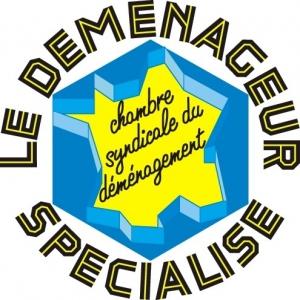 Mortelecque déménagements Nord Pas de Calais Logo Chambre Syndicale du Déménagement