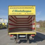 Déménagement pas cher Lille location avec Chauffeur véhicule capitonné déménagements Mortelecque