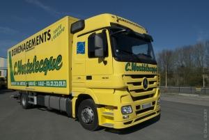 Photo camion déménagement Arras Mortelecque