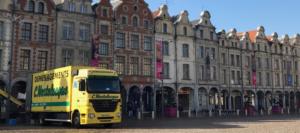 Déménagement Arras Mortelecque Photo d'un nouveau camion de déménagement Arras Lille